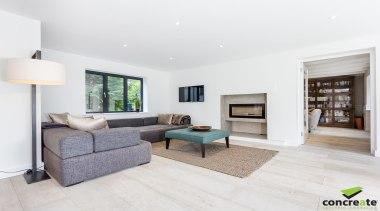 Concreate CF103 Beatrice 5109 - Concreate_CF103_Beatrice_5109 - floor floor, flooring, home, house, interior design, living room, property, real estate, white