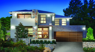 Monier Concrete Tiles - Horizon - Monier Concrete architecture, building, cottage, elevation, estate, facade, home, house, neighbourhood, property, real estate, residential area