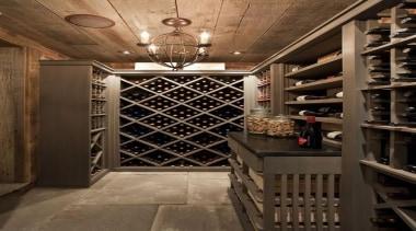Modern Wine Cellar Ideas - Modern Wine Cellar interior design, wine cellar, winery, black, brown