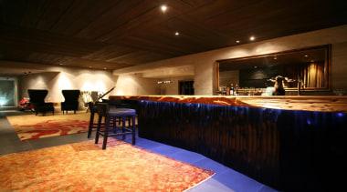 Westmere House - Westmere House - ceiling   ceiling, function hall, interior design, lighting, restaurant, room, table, black, brown