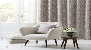Estelle Collection - Estelle Collection - chair | chair, couch, curtain, decor, furniture, interior design, living room, loveseat, wall, wallpaper, window, window covering, window treatment, white, gray