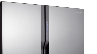 Refrigerator – Side By Side – SRS583NLSThe new product, product design, technology, gray, white