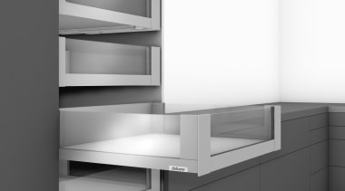 LEGRABOX free - Box System - angle   angle, bathroom accessory, black and white, chest of drawers, furniture, line, monochrome, product, product design, shelf, shelving, white, gray