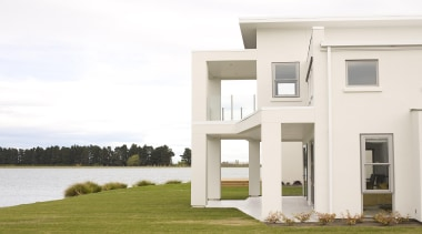 Lake HoodFor more information, please visit www.gjgardner.co.nz architecture, building, estate, facade, home, house, property, real estate, window, white