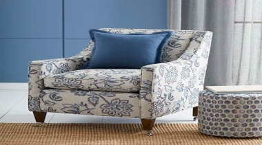 Presenting traditional designs with a contemporary twist, BIANCA chair, couch, cushion, furniture, loveseat, product, slipcover, gray
