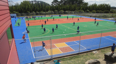 Pre-school, primary & seconday education - Pre-school, primary ball game, competition event, grass, leisure, sport venue, sports, structure, tennis court
