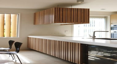 Parnell, Auckland - Nikau House - architecture | architecture, cabinetry, ceiling, countertop, cuisine classique, furniture, interior design, kitchen, room, gray, brown