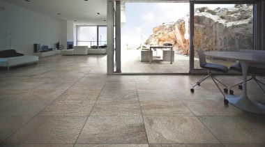 Stone D barge interior living area floor tiles floor, flooring, hardwood, laminate flooring, property, real estate, tile, wood, wood flooring, gray