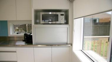 11 hillsborough modern 2013 5.jpg - 11_hillsborough_modern_2013_5.jpg - countertop, home appliance, interior design, kitchen, microwave oven, gray