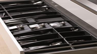 Impala Plastika Knife Block and Spice Bottle Inserts automotive design, furniture, product, black