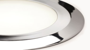 Domus' Smally is available in Painted Aluminium, Chrome dishware, plate, product design, tableware, white