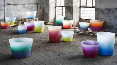 There's a whole spectrum of colour to enjoy chair, furniture, interior design, lighting, plastic, product, table, gray, white