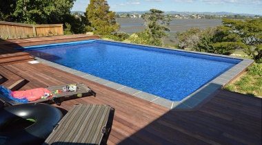 Gold Award recipient for Residential Swimming Pools under house, leisure, property, real estate, swimming pool