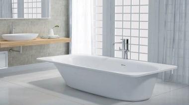 California - bathroom | bathroom accessory | bathroom bathroom, bathroom accessory, bathroom sink, bathtub, ceramic, plumbing fixture, product, product design, tap, toilet seat, gray
