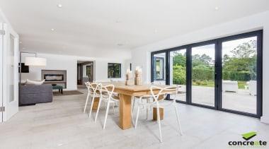 Concreate CF103 Beatrice 5099 - Concreate_CF103_Beatrice_5099 - estate estate, floor, house, interior design, property, real estate, table, window, white