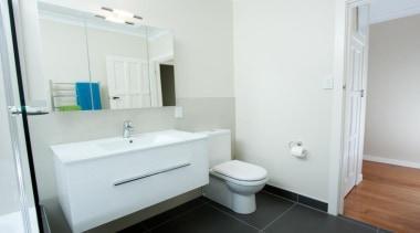 Wall hung vanity Strata single drawer vitreous china bathroom, bathroom accessory, bathroom cabinet, floor, home, property, real estate, room, sink, white