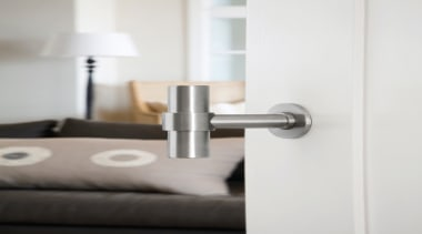 PBT20/50 - Solid Sprung Lever Handle Attached to bathroom accessory, product, product design, tap, white