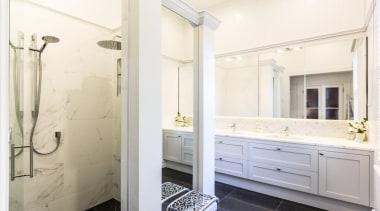 Classic Villa - Classic Villa - bathroom   bathroom, bathroom accessory, bathroom cabinet, floor, home, interior design, room, sink, white