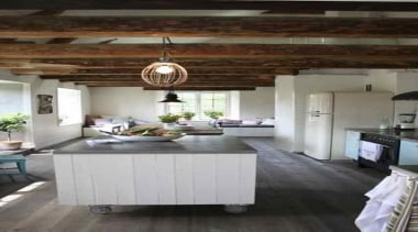 wood celling - anytime!! Feels so warm and ceiling, countertop, cuisine classique, floor, flooring, interior design, kitchen, gray, black