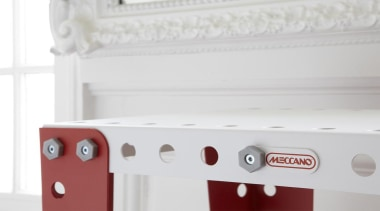 Meccano Home is a new collection from the furniture, product, product design, white