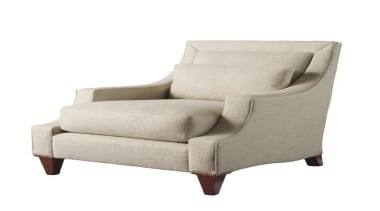 """""""Upholstery helps set the foundation for how a angle, chair, club chair, couch, furniture, loveseat, product design, white"""