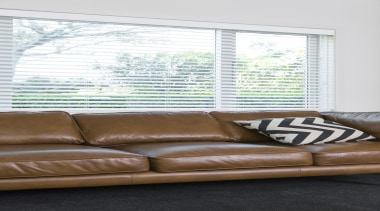 Harrisons Blinds and Shutters - Harrisons Blinds and couch, furniture, home, interior design, living room, loveseat, sofa bed, table, wall, window, window blind, window covering, window treatment, wood, white