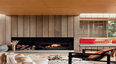 SI900 Open Wood - SI900 Open Wood - fireplace, hearth, home, interior design, living room, wall, wood, wood burning stove, brown