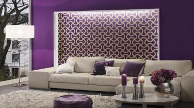 Flock III Range - Flock III Range - couch, furniture, home, interior design, living room, purple, room, sofa bed, wall, wallpaper, window covering, window treatment, gray, purple