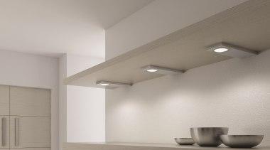 Domus Line Evometris V12 LED Spotlights; made in architecture, ceiling, daylighting, daytime, interior design, light, light fixture, lighting, product design, wall, gray