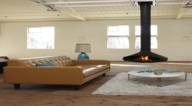 Thomas Maxwell Artisan Leather - couch | floor couch, floor, flooring, furniture, hardwood, home, interior design, living room, product design, room, table, orange, brown