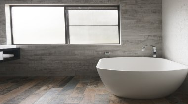 Highly Commended – Nathalie Scipioni. NS Studio - bathroom, bathroom accessory, bathroom sink, bidet, ceramic, floor, flooring, interior design, plumbing fixture, sink, tap, tile, toilet seat, wall, gray, white