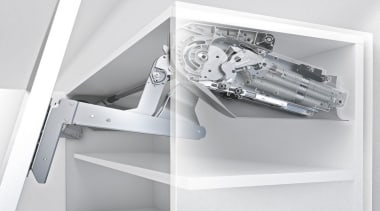 Up & Over Lift System - AVENTOS HS furniture, white
