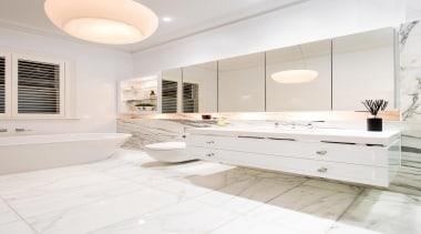Winner Bathoom of the Year 2013 South Australia bathroom, bathroom accessory, bathroom cabinet, countertop, floor, flooring, home, interior design, room, sink, tile, white