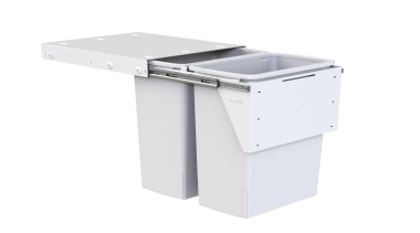 Model KC240D - 2 x 40 litre buckets. furniture, product, product design, white