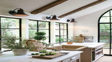 "touch of wood ...must for that ""warm"" feeling home, interior design, living room, table, window, white"