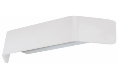 FeaturesThe Ponton wall lights are a very modern angle, product design, white