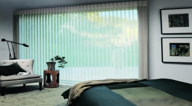 luxaflex luminette privacy sheers - luxaflex luminette privacy bed frame, bedroom, ceiling, curtain, decor, door, floor, home, interior design, room, shade, textile, wall, window, window blind, window covering, window treatment, white, gray