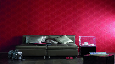 Akoya Range - Akoya Range - ceiling   ceiling, couch, interior design, lighting, living room, red, room, wall, wallpaper, red, black