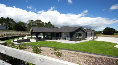 ShowhomeFor more information, please visit www.gjgardner.co.nz cottage, elevation, estate, facade, farmhouse, home, house, land lot, landscape, property, real estate, residential area, suburb, villa, white