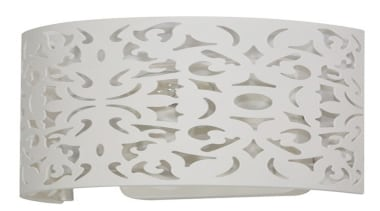 FeaturesThe Vicky wall light is designed to match lighting, lighting accessory, product design, white