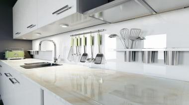 RS11149 Dekton Kitchen - Fiord - RS11149 Dekton countertop, interior design, kitchen, product design, gray, white