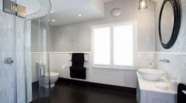 classical guestbathroom.jpg - classical_guestbathroom.jpg - bathroom | bathroom bathroom, bathroom accessory, floor, flooring, home, interior design, property, real estate, room, sink, tile, window, gray, white