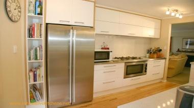 modernbirkenhead4.jpg - modernbirkenhead4.jpg - cabinetry | countertop | cabinetry, countertop, cuisine classique, home appliance, kitchen, major appliance, real estate, refrigerator, room, orange, brown