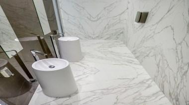 Neolith Calcatta - Neolith Calcatta - bathroom | bathroom, ceramic, floor, plumbing fixture, product design, tap, tile, toilet seat, wall, gray