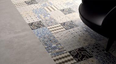 9 different pattern tiles, randomly supplied. - Cementina design, floor, flooring, pattern, tile, gray, black