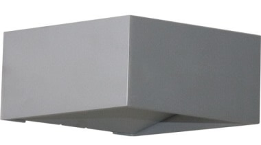 FeaturesA minimalist cube design that will subtly enhance angle, lighting, product design, gray, white