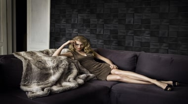 Caravaggio Range - Caravaggio Range - beauty   beauty, couch, fur, girl, model, photo shoot, photograph, photography, sitting, black
