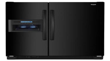 Black Matte Fridge - Black Matte Fridge - home appliance, kitchen appliance, major appliance, product, product design, refrigerator, black