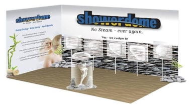 A solution to drier bathroom and healtheir home product, product design, white