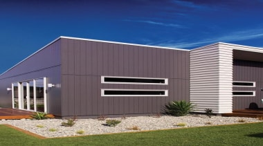 Axon Panel - Axon Panel - architecture | architecture, building, commercial building, elevation, facade, home, house, property, real estate, residential area, shed, siding, structure, blue, gray